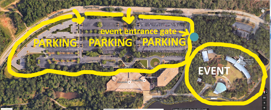 FREE Parking for Dog Walk and Woofstock